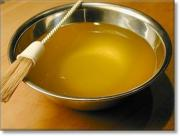 Clarified butter or ghee is very commonly used in Indian cooking and while cooking certain sea foods like shrimps