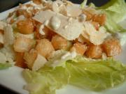 Caesar Salad - A Yummy Side Dish To Be Included In Potluck Dinner Ideas