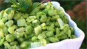 Mashed Creamy Peas
