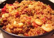 Classic Creole Shrimp Jambalaya