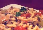 Beef Macaroni and Cheese