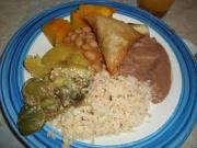 Traditional Central African dish