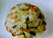 Carrot and Zucchini Rice
