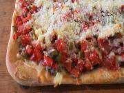 Vito's Deep-Dish Sausage Pizza