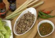 Thai Chicken And Lettuce Wrap