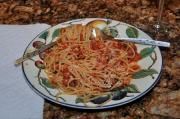 Vermicelli with Tomato Basil Sauce