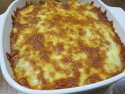 Ham Cheese Rice Bake
