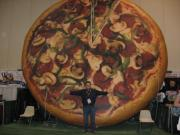 One Big Pizza!