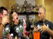 Halloween Cocktail: The Kinky Vampire, with Kinky Liqueur