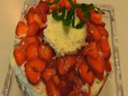 Betty's Showy Strawberry Shortcake -- 4th of July