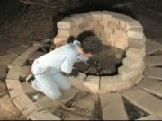 How to make a barbecue pit