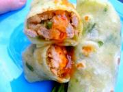 Scallion Pancake Wraps