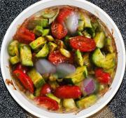 Cucumber-Tomato Casserole