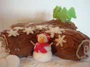 Tips on how to freeze yule log cakes