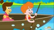 Row, Row, Row Your Boat - Nursery Rhymes