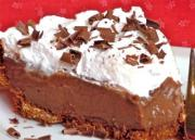 Milk Chocolate Truffle Cream Pie