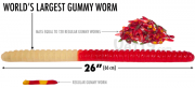 Aloha! World's Largest Gummy Worm