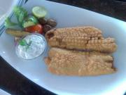 Beer Batter Snapper with Aioli