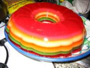 To prepare layered Jell-O add consequent layers before the previous the layer gets firmly set.