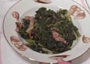 Cajun Style Turnip Greens