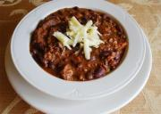 Black Bean Chili with Pork