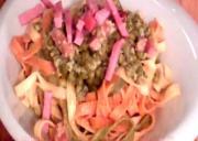 Italian Peas & Ham Pasta