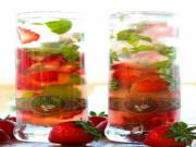 Strawberry Basil Mojito