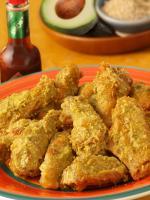 Avocado Chipotle Chicken Wings