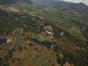 Aerial Video: Farming vineyards From an Airplane (The Journey Blog 9.1.10)