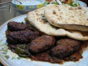 Afghan Kufta served with Afghani Nan