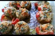 How to Use Bell Pepper Mushrooms as Appetizers