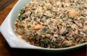 Wild Rice Oyster Bake