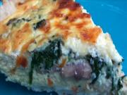 Entertaining: Cheesy Spinach and Mushroom Quiche