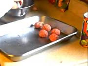 DeMaria Kitchen Preparing Lamb Balls Part One