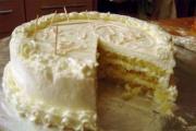 Eggnog Torte