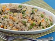 Chick Pea and Mint Rice (Healthy Heart & Low Cholesterol)
