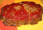 Microwave Tomato Meat Loaf