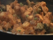 Paneer 65 rwith Broccoli, Indian Appetizer