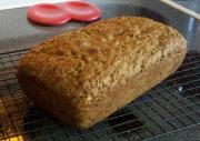 Spicy Zucchini Wheat Bread