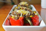 Potato Stuffed Peppers