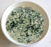 Spinach And Chestnut Dip