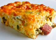 Ham and Cheese Breakfast Bake