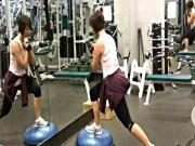 Split Power Squats