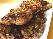 Lamb Chops with Vegetable Wine Sauce