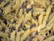 Porcini Mushroom Penne Rigate With Garlic Butter Sauce