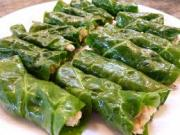 Dolmas can be made with chad leaves also
