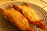 Baked Prawns with Roe and Mayo