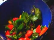 Heirloom Tomato and Broccoli Salad