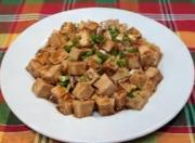 Spicy Tofu with Oyster Sauce
