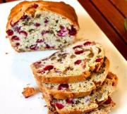 Raspberry & Walnut Loaf